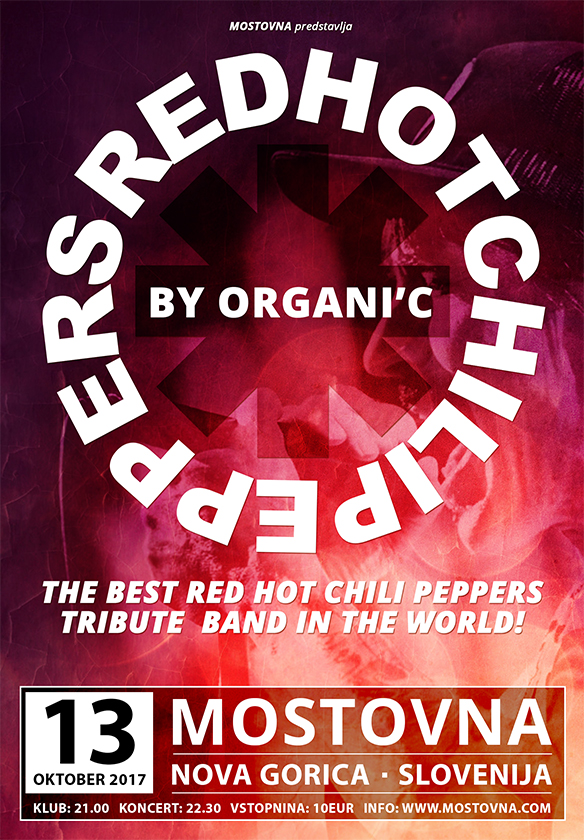 Red Hot Chilli Peppers by Organic