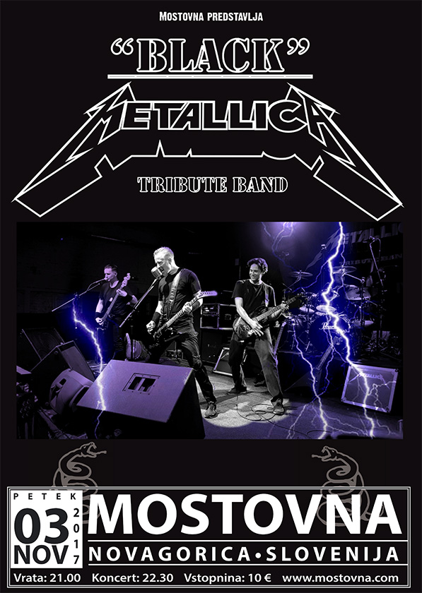 Black Metallica Tribute Band