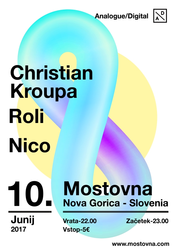 Analogue/Digital: Christian Kroupa, Nico, Roli
