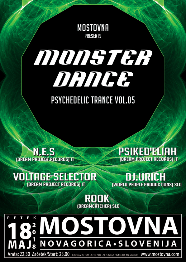 MONSTER DANCE - Psychedelic Trance vol.5